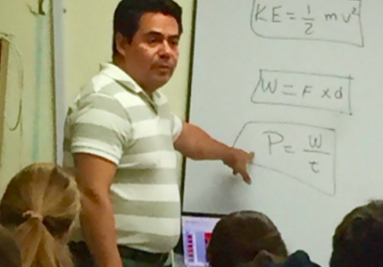 "New Teacher Profiles: John J Hernandez – Meet Our School's New ""Jack of All Trades"""