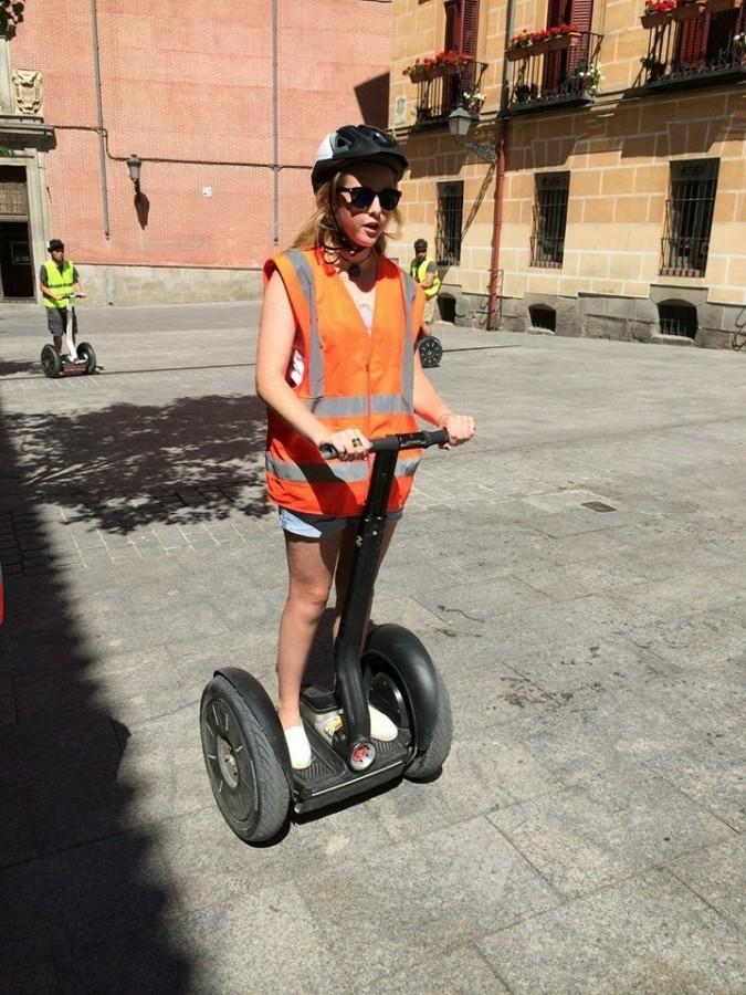 Getting a new perspective on Madrid - from a Segway.