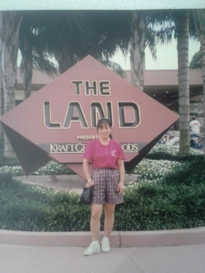Ms. Zu at Disney World