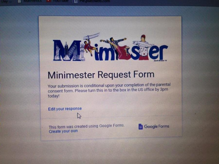 Minimester Sign Ups Skyrocket