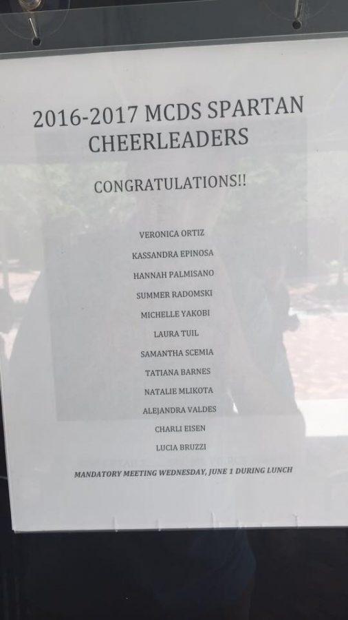 2016-2017+Spartan+Cheerleaders+Announced