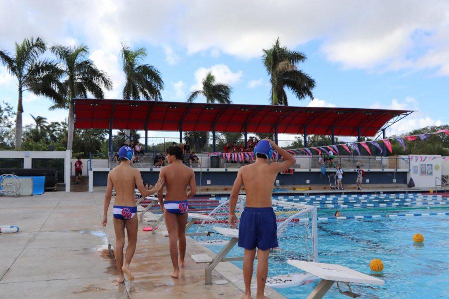 Freshmen Water Polo