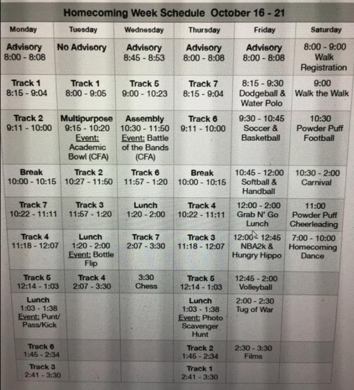 Homecoming+Schedule+2017