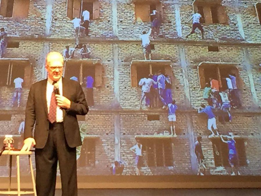Sir Ken Robinson at MCDS