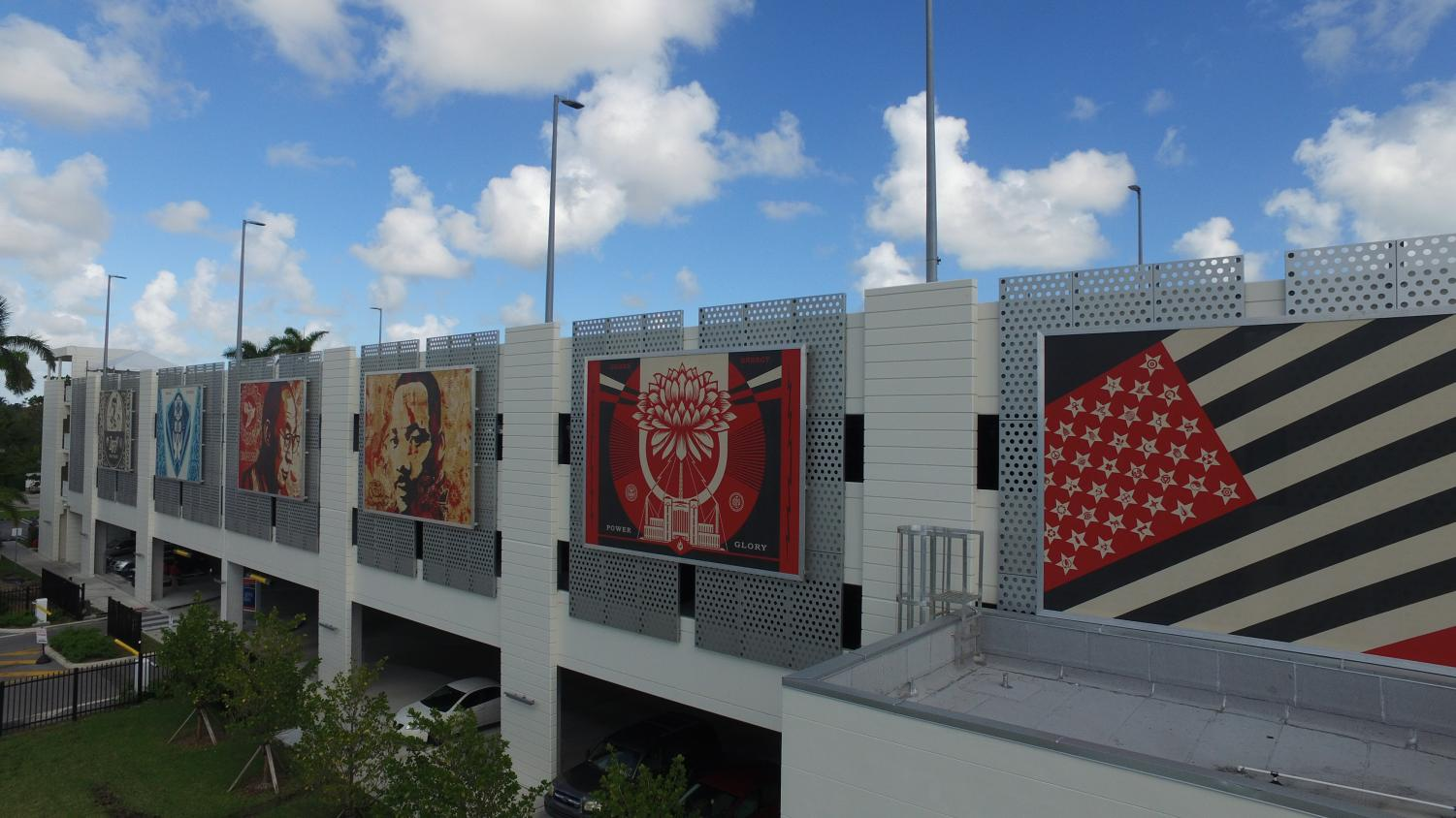 Shepard Fairey Adorns Garage