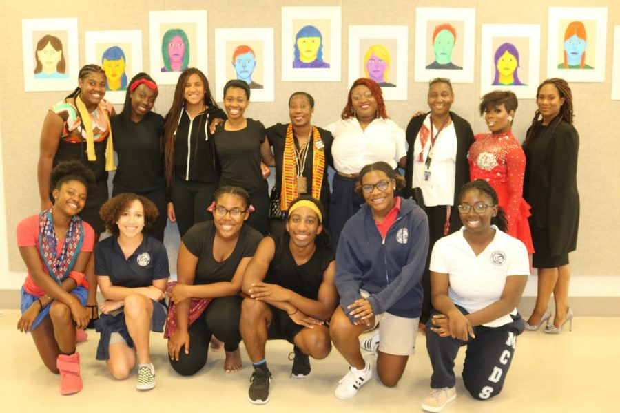 Assembly+participants+in+2018+Black+History+Month
