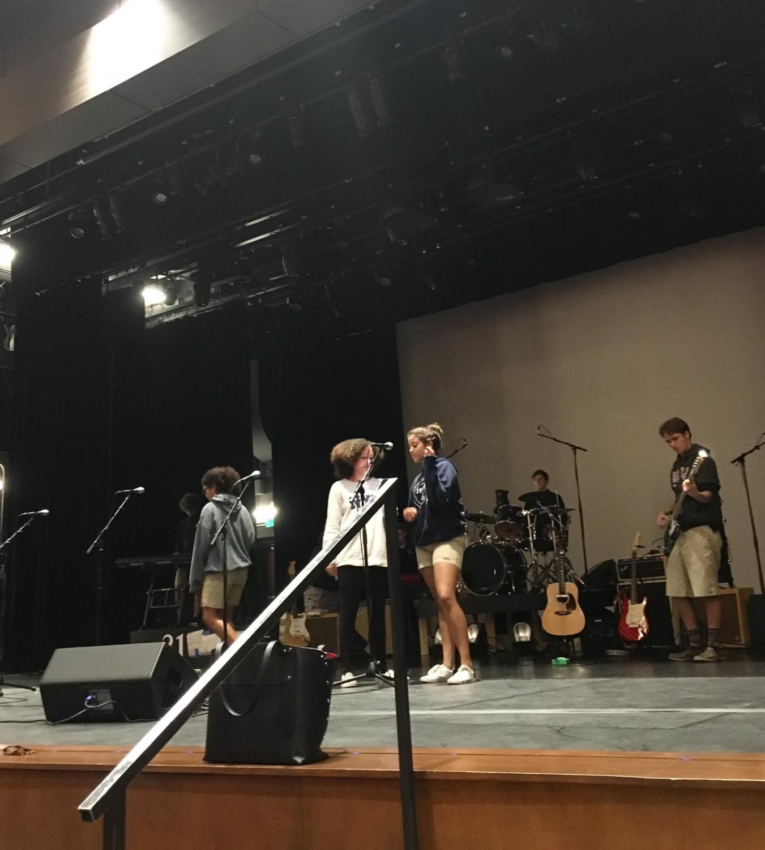 Pre-Concert Practice
