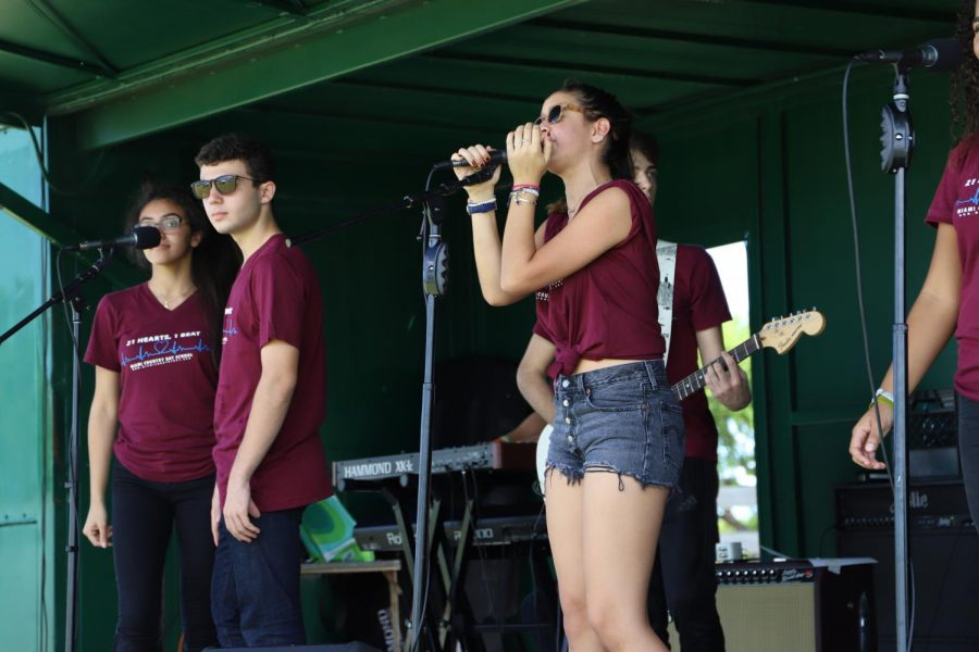 Performing at Haulover