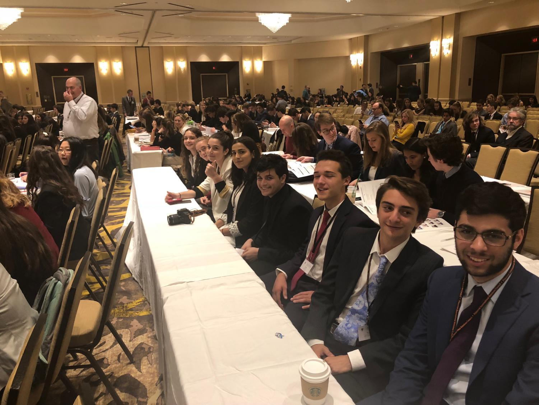 MCDS delegates at Model UN Princeton