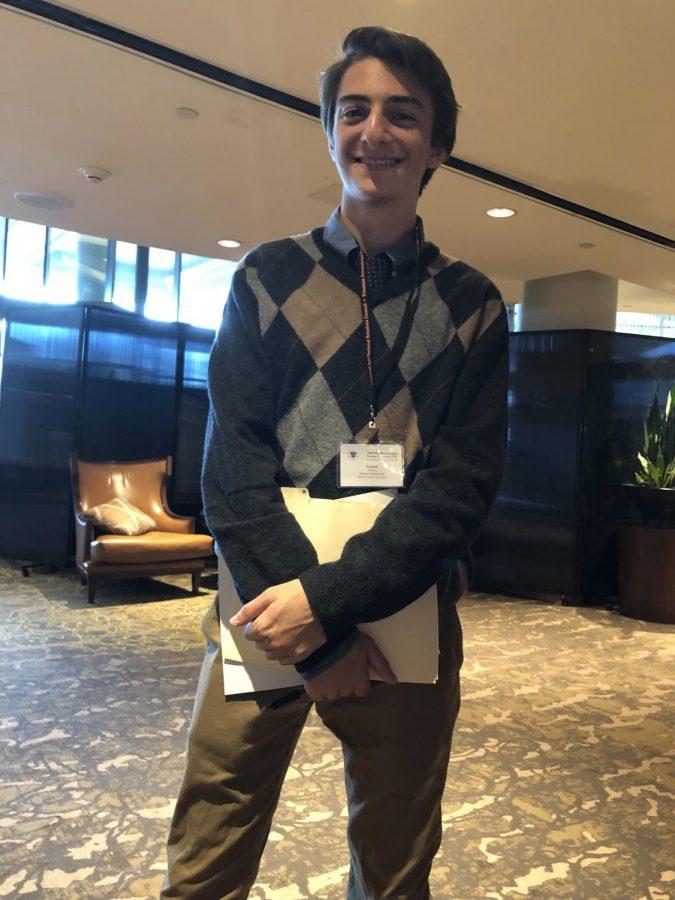 Michael A, Iceland Delegate