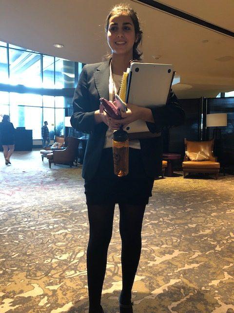 Delegation Leader Gabi Marchesani