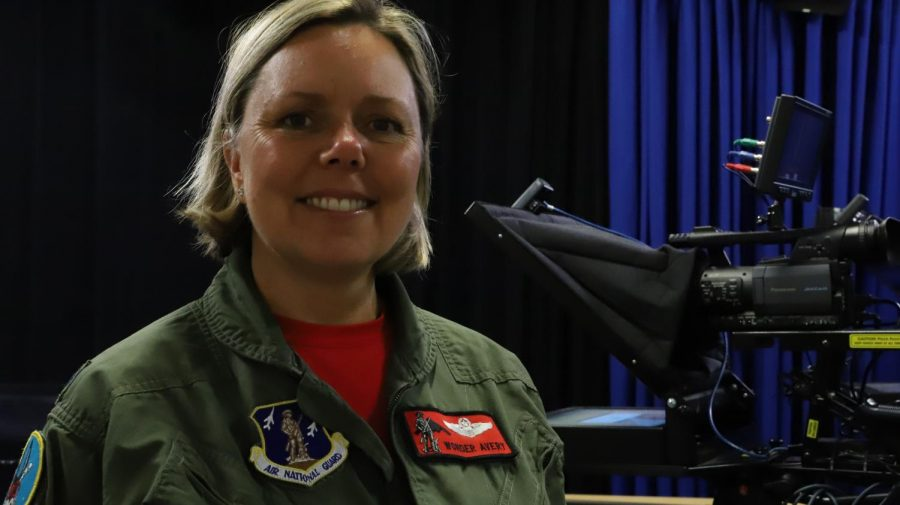 Alum and Air Force Vet Lt. Col. Jennifer Avery