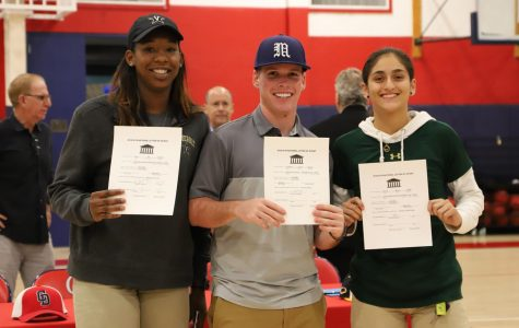 Koi, Connor and Maria sign to Vanderbilt, University of Maine and USF