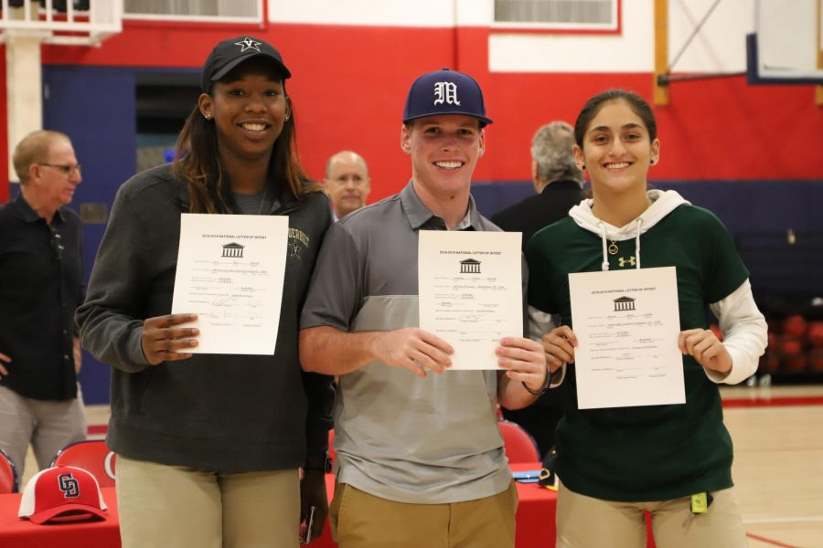 Koi%2C+Connor+and+Maria+sign+to+Vanderbilt%2C+University+of+Maine+and+USF