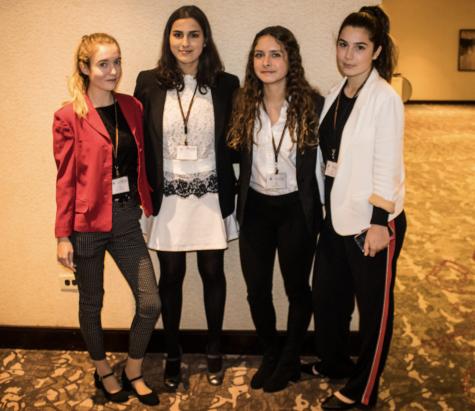 Girls at Model UN