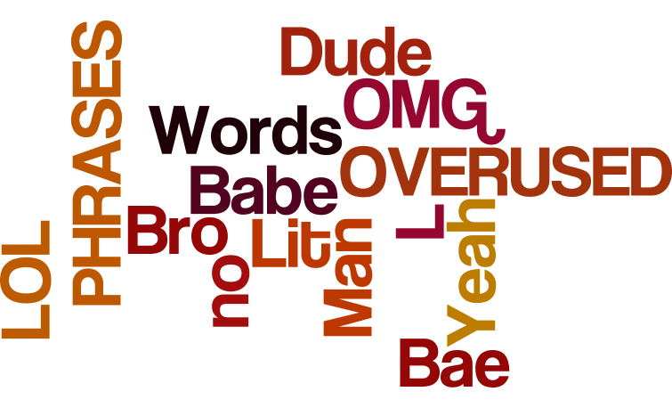 What's YOUR most overused word or phrase?