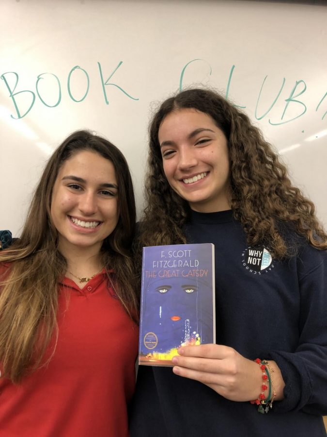 Mia Batista and Giulianna Bruce are starting a book club.
