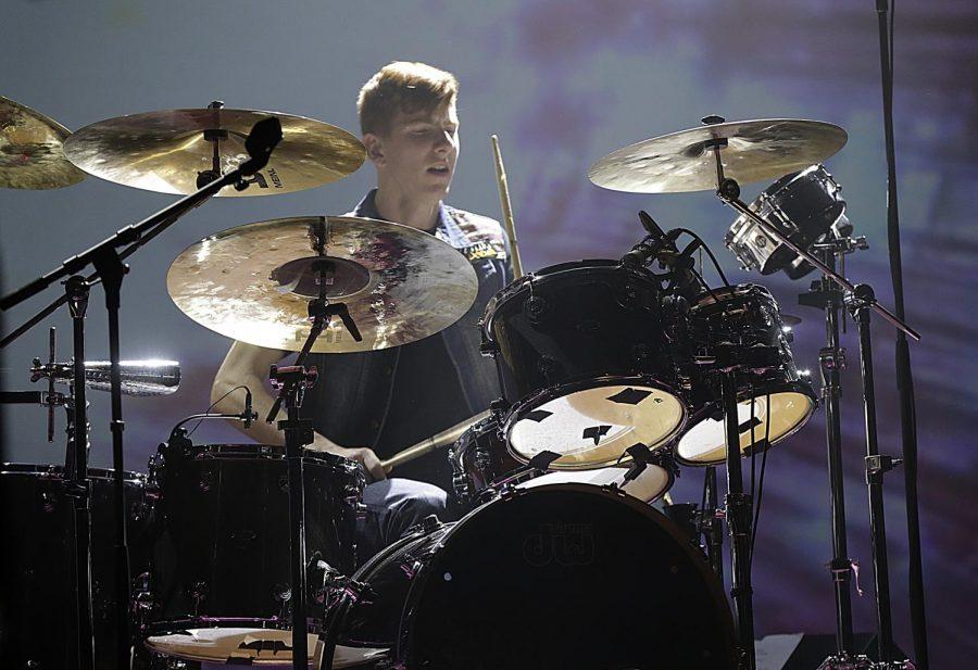 No one drums like Mack!