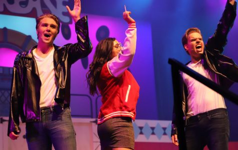 Daniel, Charlie and Camryn sing their hearts out at the premiere of Grease!