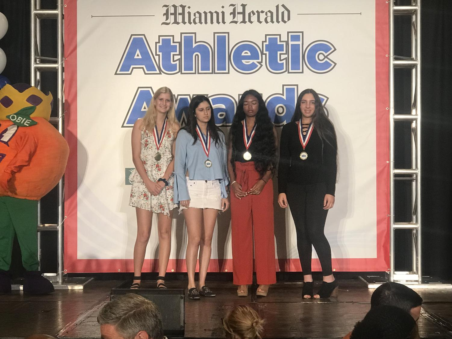 At the Miami Herald Athletic Awards, Spartans won big-time!
