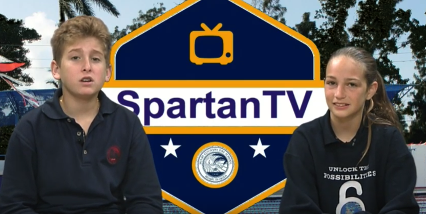 Spartan TV Miami Anchors Andres Bruckstein and Ava Pumo host a summer news episode.