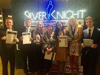 Allen and Pedraza Win Silver Knight Awards