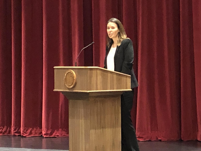 Jill Robert moves into the position of Director of Upper School