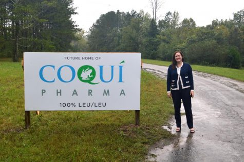 Parent of Upper School student Coco Serrano-Bigles is the CEO of Coqui Pharma