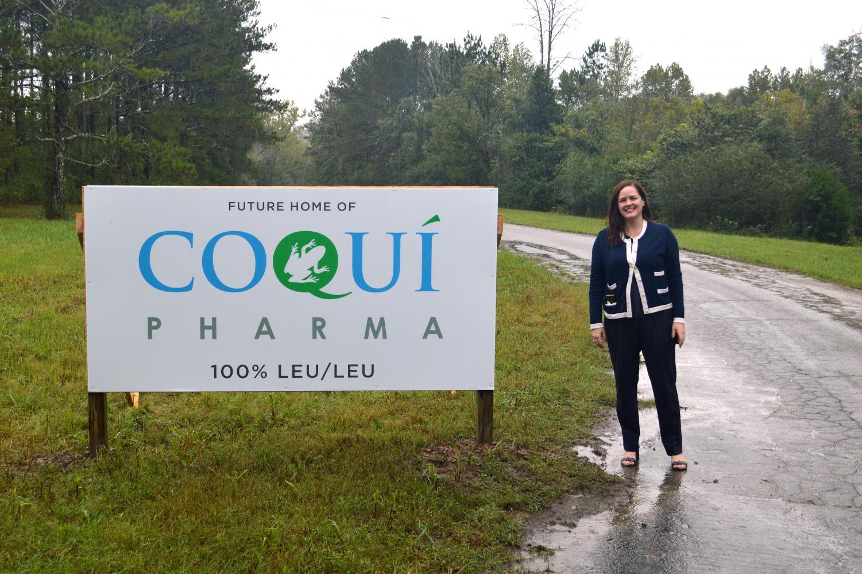 Parent of Upper School student Coco Serrano-Bigles is the CEO of Coqui Pharma