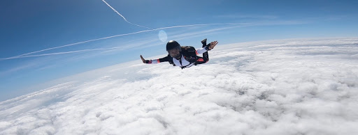 Junior Sydney Fuentes considers herself an adrenaline junkie and is pursuing both skydiving and pilots licenses.
