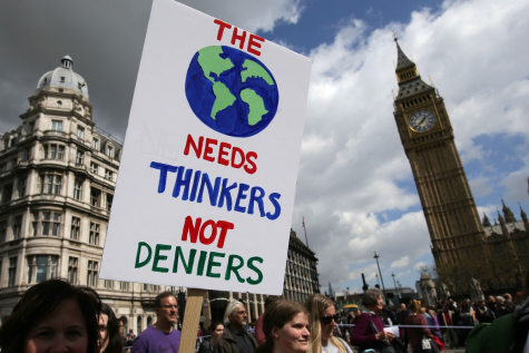 While millions protest around the world, there are still some who believe that climate change does not exist.