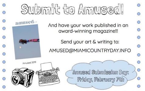 Writers and Artists Unite! AMUSED is Open for Business