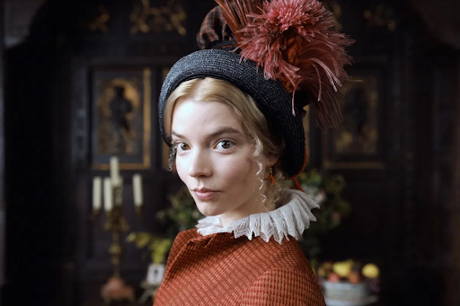 Anya Taylor-Joy stars in the title role of the movie Emma.