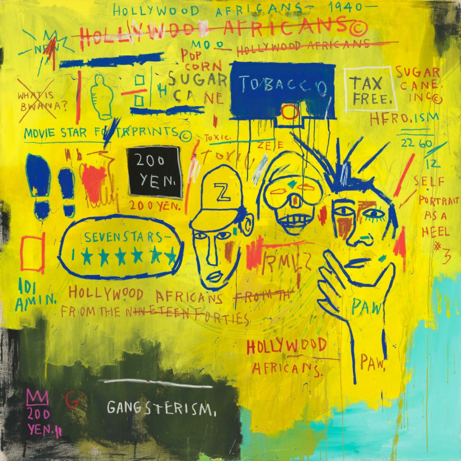 Hollywood Africans (1983) by Jean Michel Basquiat