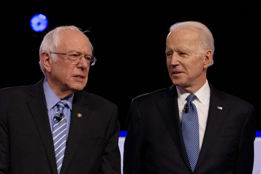 Democratic+2020+U.S.+presidential+candidates+U.S.+Senator+Bernie+Sanders+and+former+Vice+President+Joe+Biden+February+25%2C+2020.+REUTERS%2FRandall+Hill