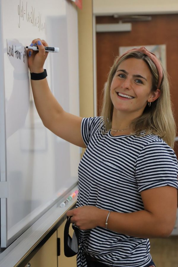Meet one of our newest Spartans: Upper School Math teacher Samantha Stanton