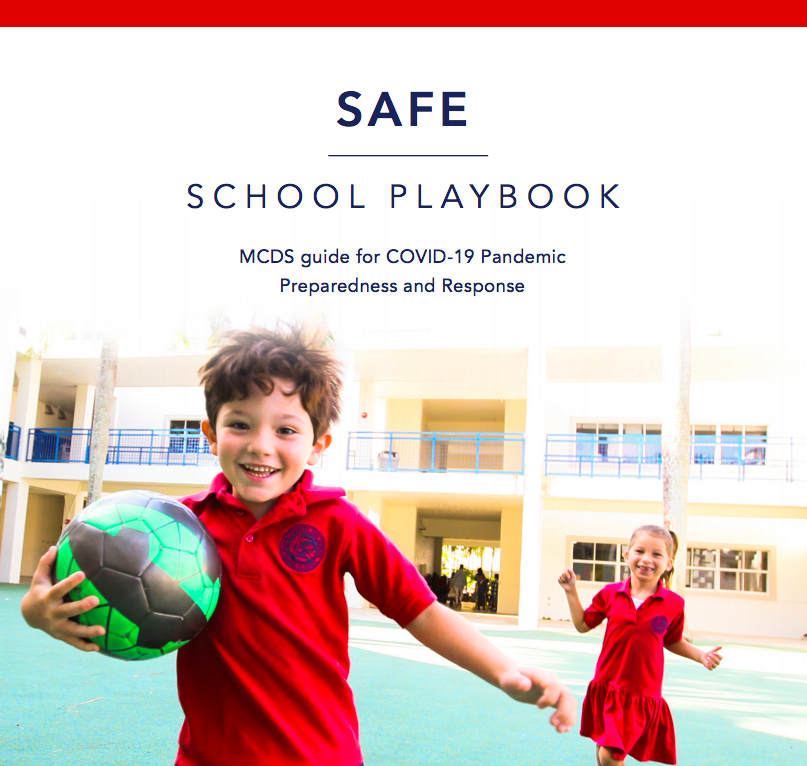 All the details for a safe return to school are in this playbook.