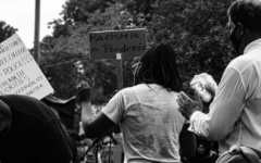 Peaceful moments of the BLM Movement as captured through reporter's lens.