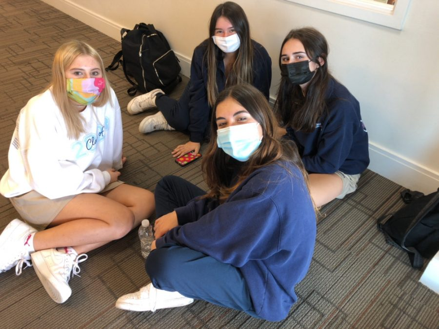 Having masks on? A breeze! Social distancing? Not so easy!