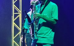 Big Mike on the sax